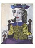 Le Chandail Jaune Poster von Pablo Picasso