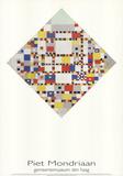 Victory Boogie Woogie Impressão colecionável por Piet Mondrian