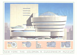 New York - The Solomon R Guggenheim Museum Collectable Print by Libero Patrignani