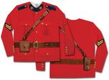 Long Sleeve: Canadian Mountie Tee Vêtement