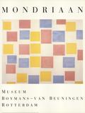 Composition with Color Planes Reproduction pour collectionneur par Piet Mondrian