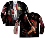 Long Sleeve: Zombie Groom Tee Shirts