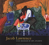 The Lovers Poster by Jacob Lawrence