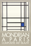 A Paris Collectable Print by Piet Mondrian