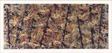 Blue Poles Reproductions de collection par Jackson Pollock