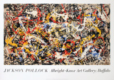 Convergence Collectable Print by Jackson Pollock