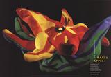 Die Zauberflote (Magic Flute), Flower Sammlerdruck von Karel Appel