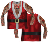 Long Sleeve: Santa Suit Tank w/Tattoos Tee Long Sleeves