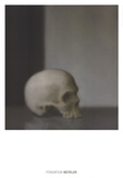 Schadel (Skull) Kunstdruck von Gerhard Richter