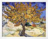 Mulberry Tree, c.1889 Art by Vincent van Gogh