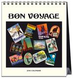 Bon Voyage - 2016 Easel Calendar Calendars