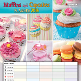 Muffins and Cupcakes Planner - 2016 Calendar Calendars