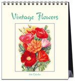 Vintage Flowers - 2016 Easel Calendar Calendars