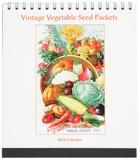 Vintage Vegetable Seed Packs - 2016 Easel Calendar Calendars