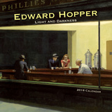 Edward Hopper-Light & Darkness - 2016 Calendar Calendars