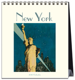 New York Vintage Postcards  - 2016 Easel Calendar Calendars