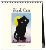 Lucky Black Cats - 2016 Easel Calendar Calendars