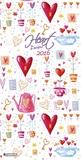 Heart Design - 2016 Poster Calendar Calendars