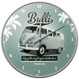 VW Retro Bulli - Wall Clock - Saat