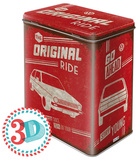 VW Golf - The Original Ride - Tin Box Novelty