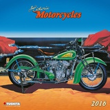 Historic Motorcycles  - 2016 Calendar Calendars
