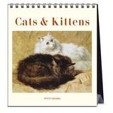 Cats by Henriette Ronner Knip - 2016 Easel Calendar Calendars