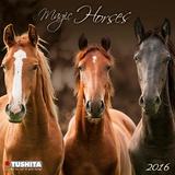 Magic Horses - 2016 Mini Wall Calendar Calendars