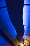 Abstract Tunnel Lights Photographic Print