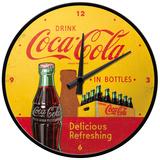 Coca-Cola - In Bottles Yellow - Wall Clock Ur