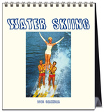 Water Skiing - 2016 Easel Calendar Calendars