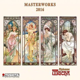 Mucha - 2016 Mini Wall Calendar Calendars