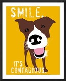 Smile Posters by Ginger Oliphant