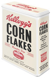 Kellogg's Corn Flakes Retro Package - Tin Box Originalt