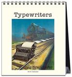 Typewriters - 2016 Easel Calendar Calendars