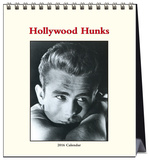 Hollywood Hunks - 2016 Easel Calendar Calendars