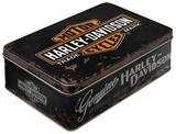 Harley-Davidson Genuine - Tin Box Novinky (Novelty)