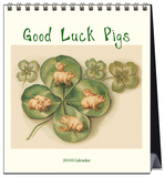 Good Luck Pigs - 2016 Easel Calendar Calendars