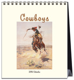 Cowboys - 2016 Easel Calendar Calendars