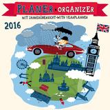 Planner Hello London  - 2016 Calendar Calendars