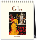 Coffee - 2016 Easel Calendar Calendars