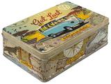 VW Bulli - Let's Get Lost - Tin Box Novinky (Novelty)