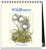 Wildflowers - 2016 Easel Calendar Calendars