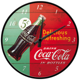 Coca-Cola - Delicious Refreshing Green - Wall Clock Clock
