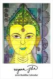 Nayana Jha Buddha Calendar - 2016 Calendar Calendars