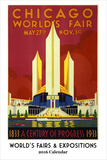 World's Fairs & Expositions Calendar - 2016 Calendar Calendars