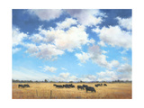 Big Sky Country Giclee Print by David Marty