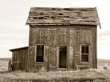 Abandoned Two Story Farm House Photographic Print by Steve Bisig