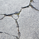 Concrete Cracks Photographic Print by Paul Edmondson