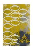 Yellow Pintura 4 Giclee Print by Sid Rativo