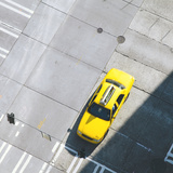 Yellow Cab Photographic Print by Paul Edmondson
